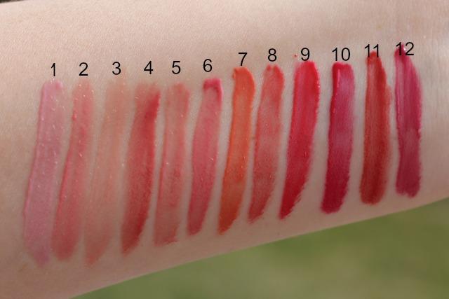 rose lip gloss will still be popular in 2016